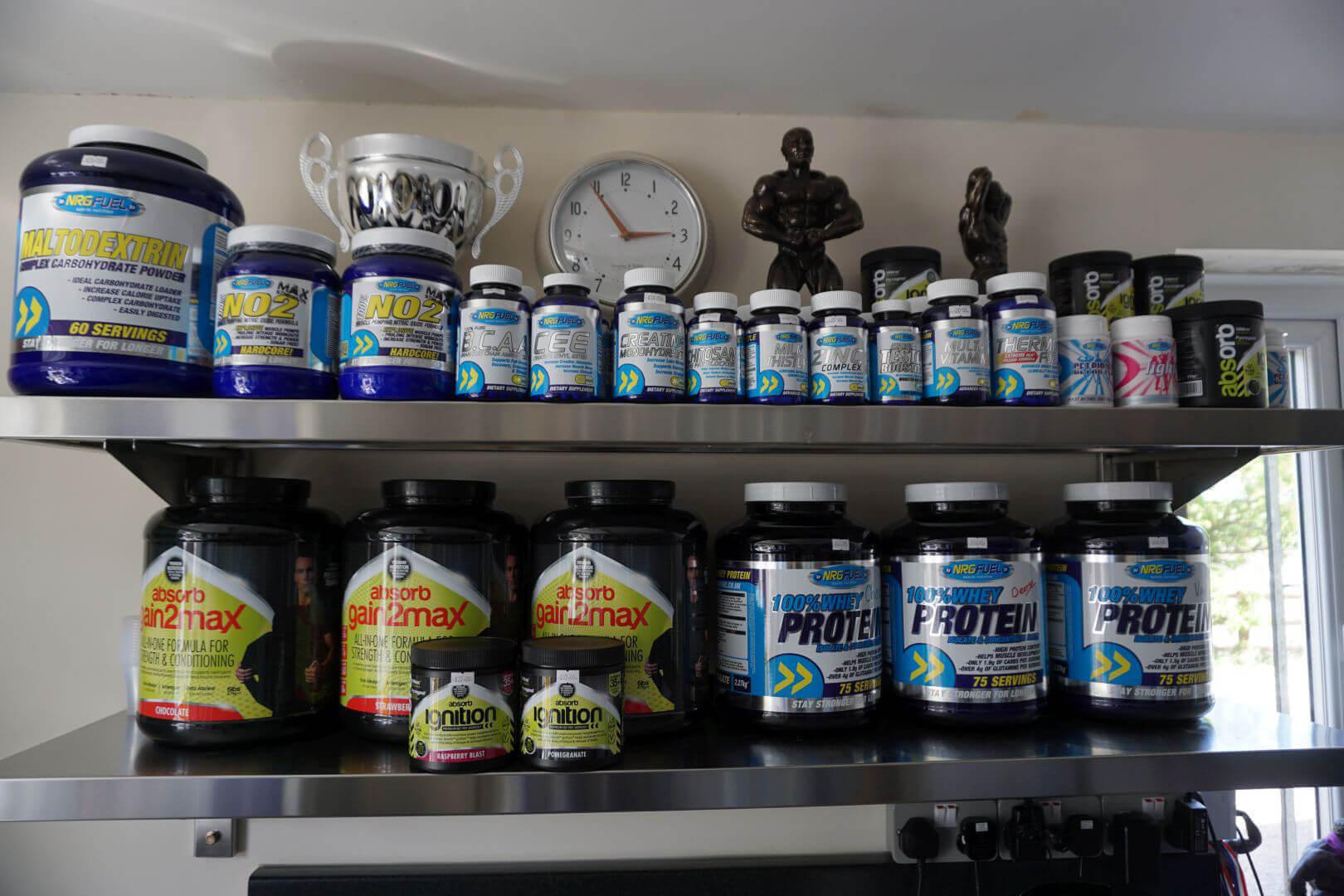 Fitta bodies gym supplements