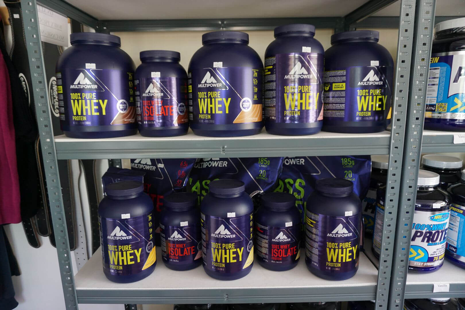Fitta bodies gym whey protein multi power